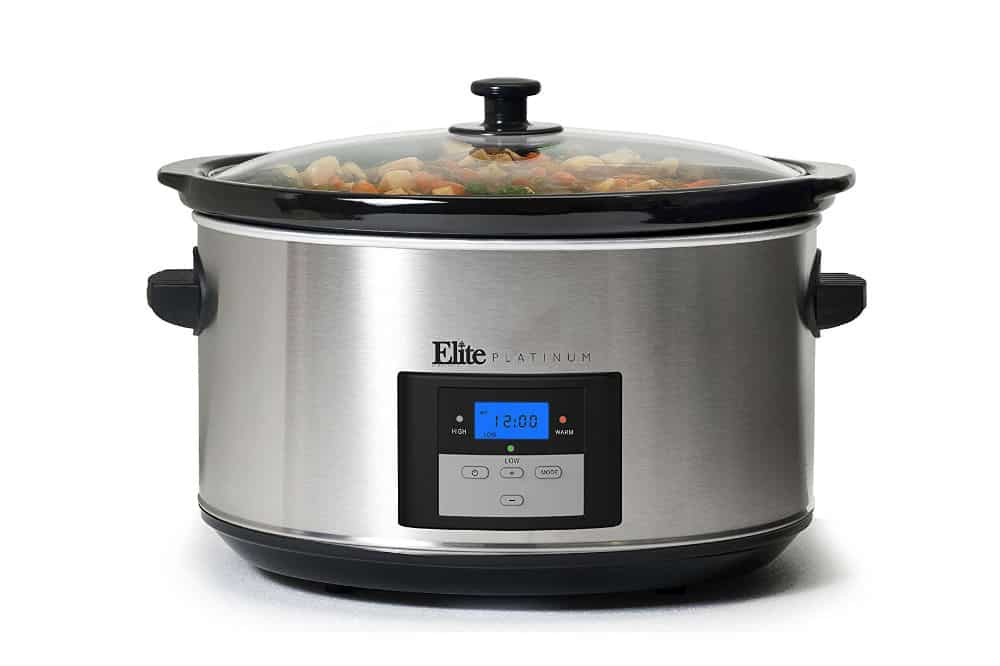 Elite Platinum MST-900D Maxi Matic Programmable Slow Cooker
