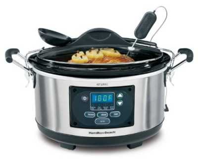 6- Quart Hamilton Beach Set 'n Forget Slow Cooker