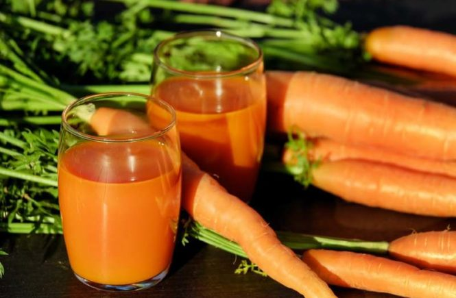 carrot juice healthy