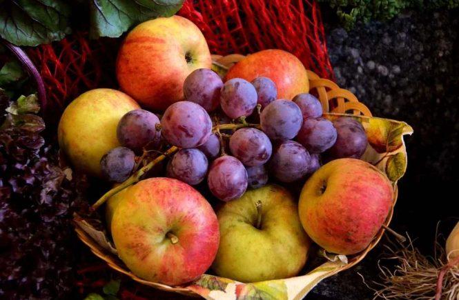 organic foods fruit basket