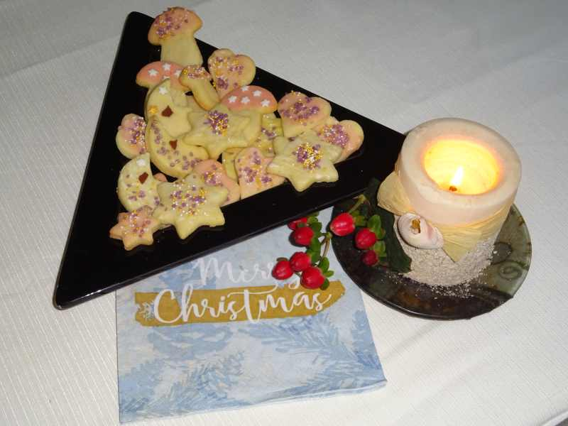 ausstecherle christmas cookies