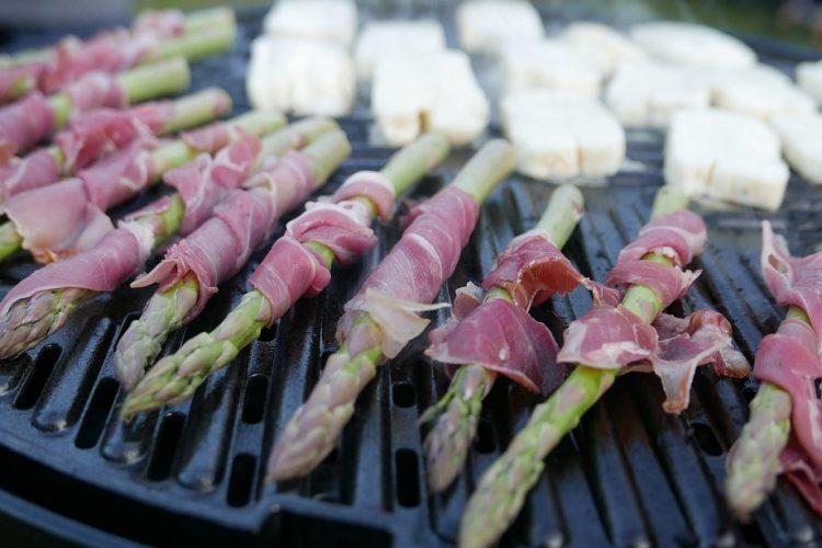 grill asparagus
